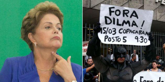 Acuada, Dilma pede apoio a ministros e apela ao