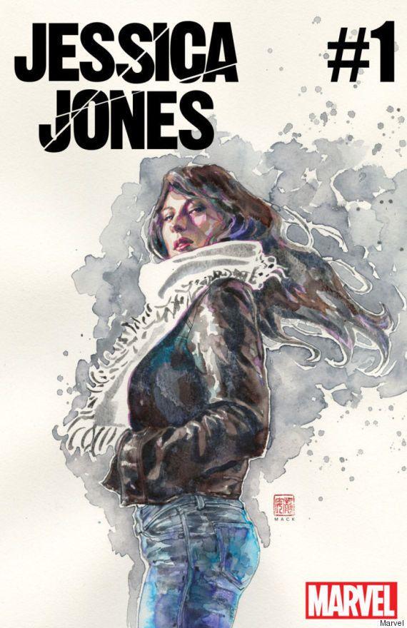 Jessica Jones: Marvel dá nova revista em quadrinhos para a