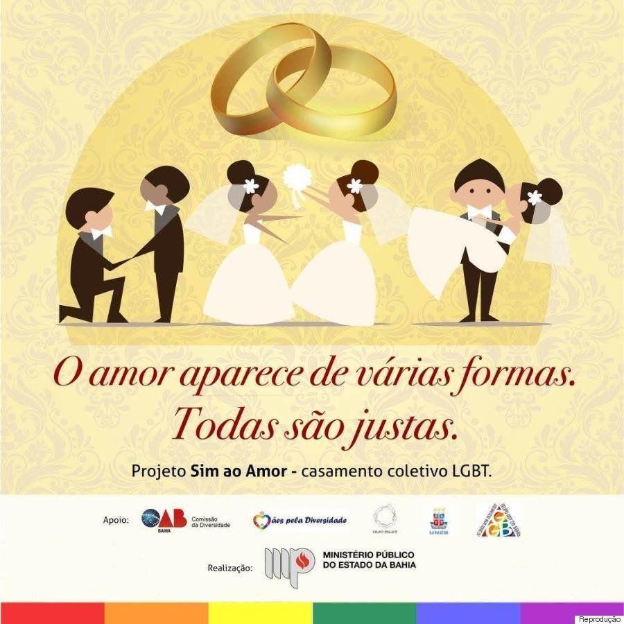 'Sim ao Amor': Salvador terá seu primeiro casamento coletivo LGBT em