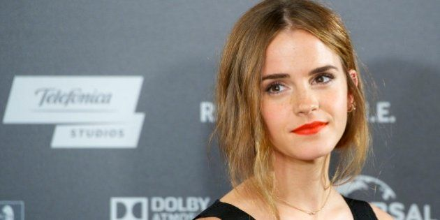 MADRID, SPAIN - AUGUST 27: Actress Emma Watson attends the 'Regression' photocall at Villamagna Hotel...