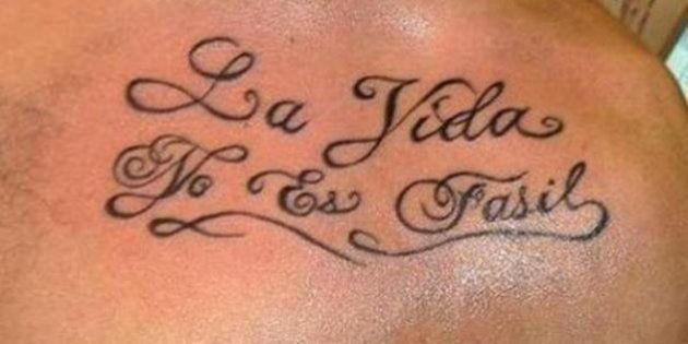 Instituto colombiano lança concurso para corrigir tatuagem com erro