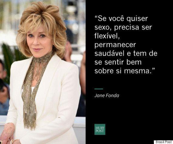 7 coisas que Jane Fonda nos ensinou sobre sexo depois dos