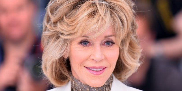 CANNES, FRANCE - MAY 20: Actress Jane Fonda poses during the photocall for the film Youth at the 68th...