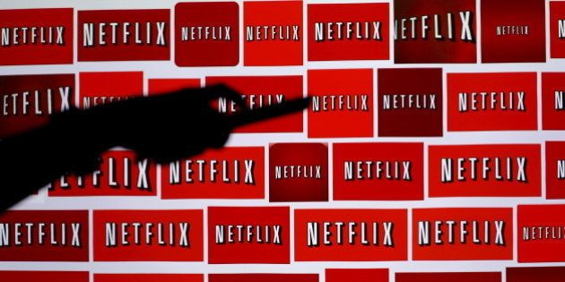 The Netflix logo is shown in this illustration photograph in Encinitas, California October 14, 2014....