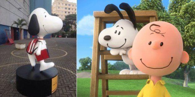 Todos os lugares onde Snoopy estará neste mês em São