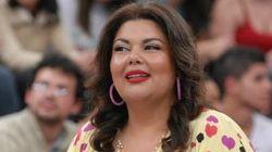 Carro da atriz Fabiana Karla é alvo de tiros no