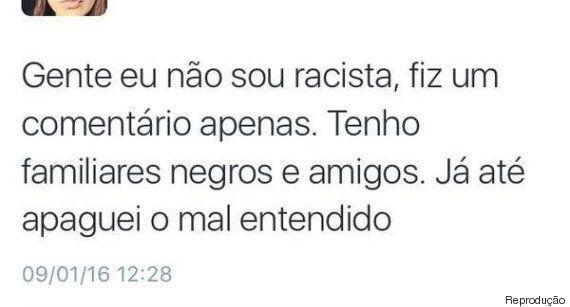 Jovem é alvo de críticas após frase racista nas redes sociais: 'Na estação do Brás abrem a porta da senzala,...