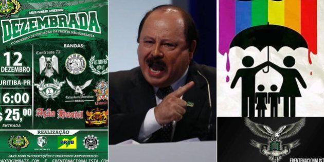 Alinhada a Mussolini e a Levy Fidelix, Frente Nacionalista é alvo de investigação pelo