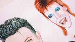 RIP Bowie: GIF traduz TODAS as caras do cantor, diferente até na cor dos