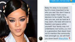 Rihanna ajuda garoto a sair do armário e inspira outros fãs a fazerem o