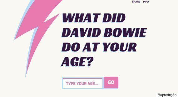 RIP David Bowie: Site mostra o que o cantor estava fazendo na sua