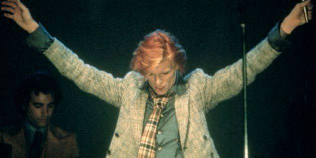 David Bowie 1975. © RTNMorley /