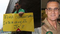 ASSISTA: Líder do Exército do Brasil tem um recado aos que querem a volta dos