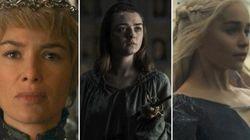 Mais uma vez, as mulheres de 'Game of Thrones' dominam: Desta vez, no