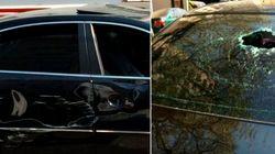 Motorista do Uber diz que foi sequestrado por taxistas e teve carro depredado em
