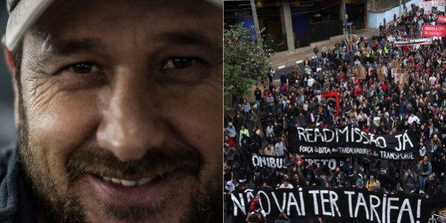 Manifestantes são presos por suposta agressão contra policial à paisana em protesto do MPL em São