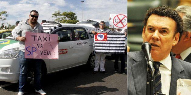 Deputado de SP Campos Machado quer formar uma frente contra a Uber em todo o