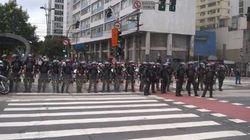 Protesto em SP: 'PM põe o pé na garganta do movimento para tentar