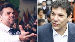 Rejeição de Haddad supera a de Marco Feliciano, diz