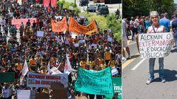 Protesto contra mudanças no ensino estadual de SP termina em confronto com a