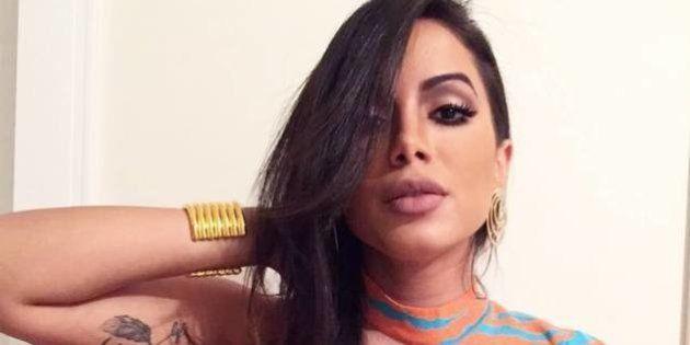 Anitta sobre crise política: 'Se for para dar opinião bunda, é melhor não