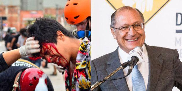 Diretor de direitos humanos da OAB repudia violência da PM em ato do MPL: 'Alckmin rasgou a