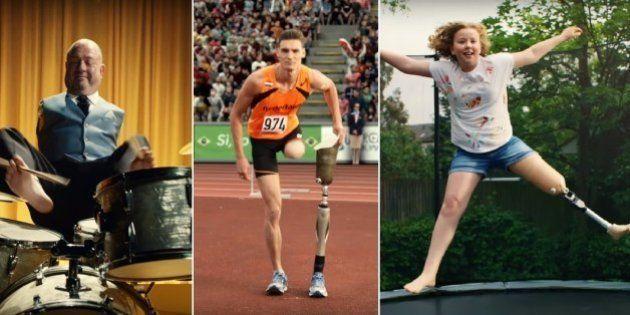 Comercial mostra a força e persistência de deficientes físicos e celebra os 'superhumanos' da vida real