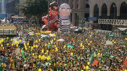 Votação de impeachment tem clima de torcida de Copa do