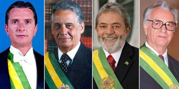 Lula, FHC e Collor são investigados por suspeita de levarem objetos do Planalto para