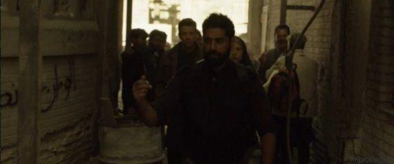 Grafites feitos no set de 'Homeland' dizem que a série é racista. E ninguém