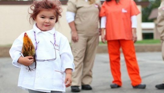 Esta garotinha é definitivamente a rainha das fantasias de