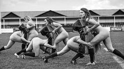 A importante razão pela qual este time de rugby posou