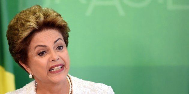 Brazilian President Dilma Rousseff announced a major government reshuffle on October 2, 2015, axing eight...
