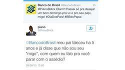 Banco do Brasil chama seguidores de 'migo' e 'parça' para desejar feliz dia dos
