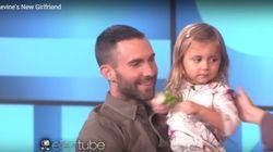 ASSISTA: Garotinha que não se conforma por Adam Levine ser casado conhece