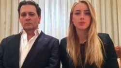 Johnny Depp e Amber Heard estrelam o pedido de desculpas menos sincero de todos os