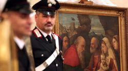 Polícia da Itália recupera pinturas saqueadas por