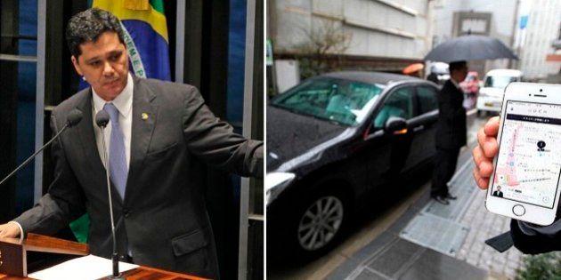 Senador Ricardo Ferraço (PMDB-ES) quer regulamentar o uso do Uber no