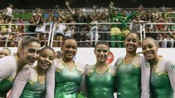 BRASIL-SIL-SIL: Meninas da ginástica se classificam para a