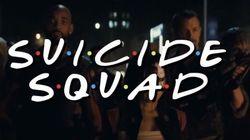 'Esquadrão Suicida' e 'Friends' se encontram em vídeo (totalmente