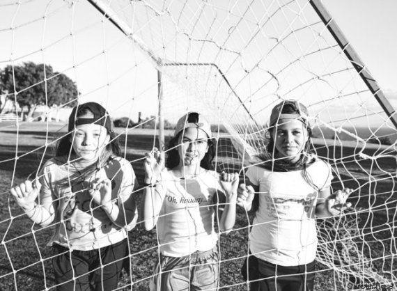 18 fotos F*DONAS de pequenas atletas que estão prontas para qualquer
