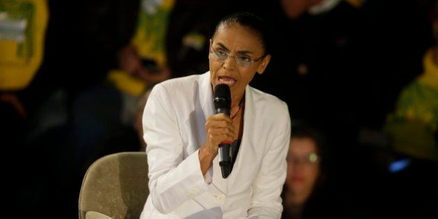 REMOVES ANDRE PENNER BYLINE - Marina Silva, presidential candidate of the Brazilian Socialist Party,...