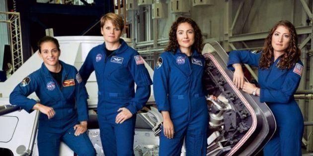 Agora é que são elas: 50% da nova equipe da NASA é composta por