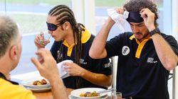 ASSISTA: O dia em que fizemos Felipe Andreoli comer testículos de