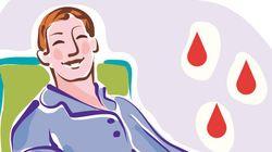 Doadores de sangue receberão mensagem de texto ao salvar a vida de