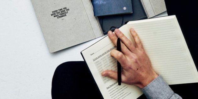 'Diário da Mente' oferece um lugar seguro para que os homens se abram sobre suas