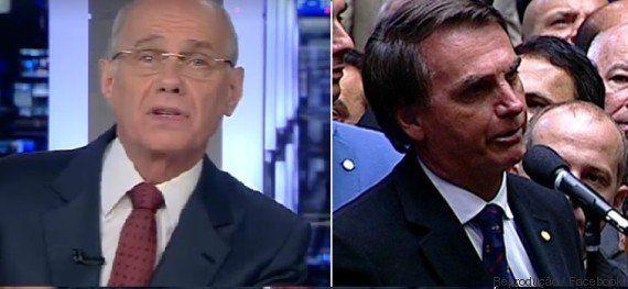 Ricardo Boechat tem um recado para Jair Bolsonaro: 'Torturador é o tipo mais baixo da