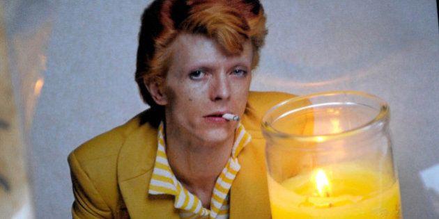 Photo by: Dennis Van Tine/STAR MAX/IPx 1/11/16 David Bowie Memorial in New York