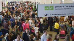 Filas e atrasos: Nova fiscalização da Anac provoca caos em