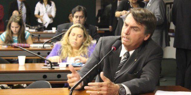 Brasília(DF), 16/03/2011 - Dep. Jair Bolsonaro (PP-RJ) fala durante a primeira reunião deliberativa...